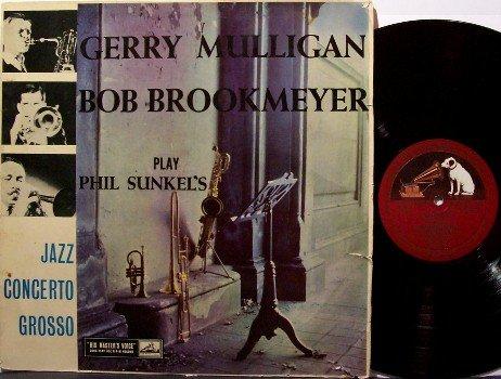 Mulligan, Gerry & Bob Brookmeyer Play Phil Sunkel - Jazz Concerto Grosso - Vinyl LP Record - UK HMV
