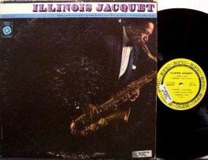 Illinois Jacquet - 1st Epic Label Release - Vinyl LP Record - Promo Copy - 1962 Mono Jazz