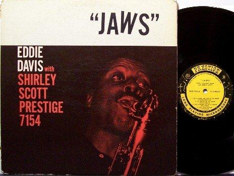 Davis, Eddie Lockjaw & Shirley Scott - Jaws - Vinyl LP Record - Prestige Mono Jazz