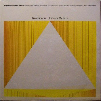 Diabetes Treatment - Sealed Vinyl LP Record - 1966 Drug Medical Lecture - Weird Unusual