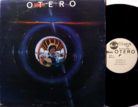 Otero, Mario - Self Titled - Vinyl LP Record - 1981 Private Texas Label - Synth Prog Strings Rock