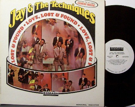 Jay & The Techniques - Love Lost & Found - Vinyl LP Record - White Label Promo - Mono - R&B Soul