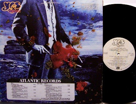 Yes - Tormato - Vinyl LP Record - Promo Copy with D J Timing Strip - Prog Rock