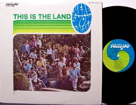 Hear & Now Singers - This Is The Land - Vinyl LP Record - Private Xian 70's Christian