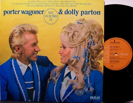 Wagoner, Porter & Dolly Parton - We Found It - Vinyl LP Record - German Pressing - Country