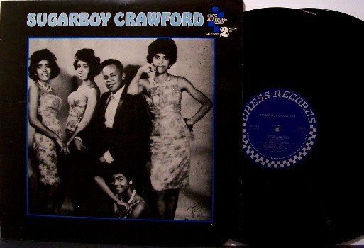 Crawford, Sugarboy - Chess Jazz Masters Series - 2 Vinyl LP Record Set - Sugar Boy - R&B Soul Blues