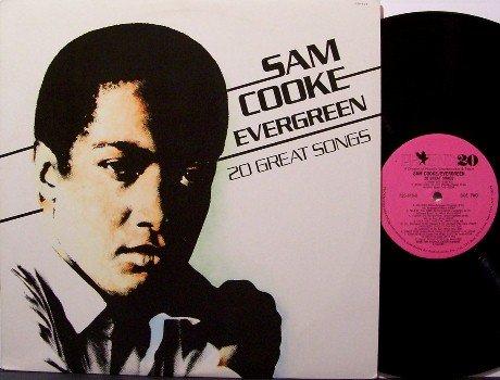 Cooke, Sam - Evergreen - Vinyl LP Record - 20 Unusual Songs - R&B Soul