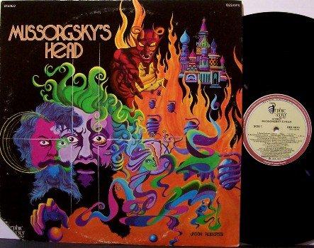 Mussorgsky's Head - Vinyl LP Record - Devil & Hell Cover - Halloween - Odd Unusual