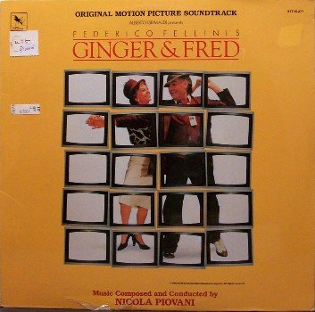 Ginger & Fred - Soundtrack - Sealed Vinyl LP Record - Nicola Piovani - OST
