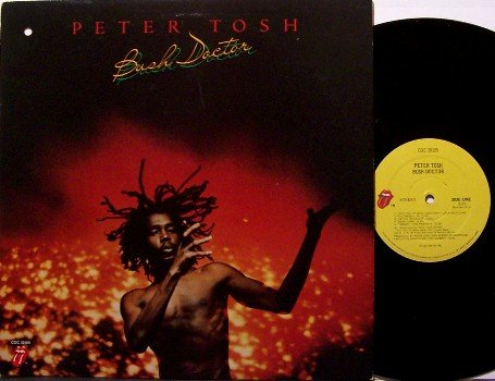Tosh, Peter - Bush Doctor - Vinyl LP Record - With Sly & Robbie - Reggae