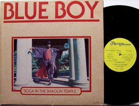 Blue Boy - Soca In The Shaolin Temple - Vinyl LP Record - Reggae