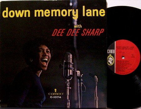 Sharp, Dee Dee - Down Memory Lane With - Vinyl LP Record - Cameo Label - Mono - R&B Soul