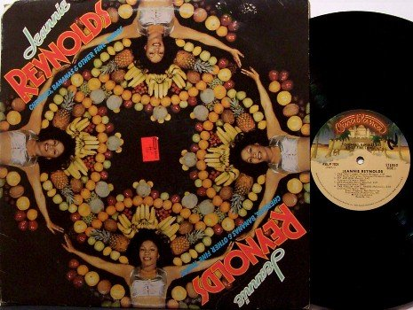 Reynolds, Jeannie - Cherries Bananas & Other Fine Things - Vinyl LP Record - Bootsy Collins - Funk