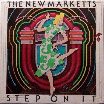 New Marketts, The - Step On It - Sealed Vinyl LP Record - R&B Soul