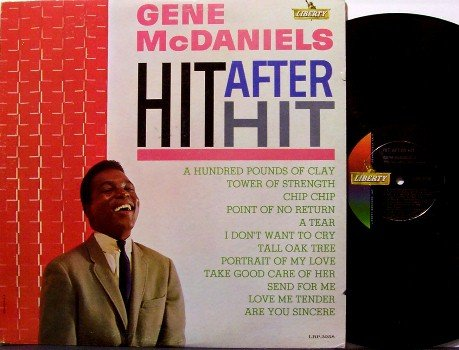 McDaniels, Gene - Hit After Hit - Vinyl LP Record - Mono - Mc Daniels - R&B Soul