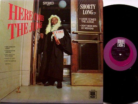 Long, Shorty - Here Comes The Judge - Vinyl LP Record - 1968 Motown Stereo - R&B Soul