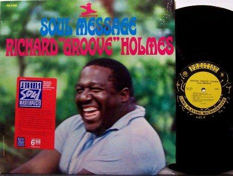 Holmes, Richard Groove - Soul Message - Vinyl LP Record - R&B Jazz