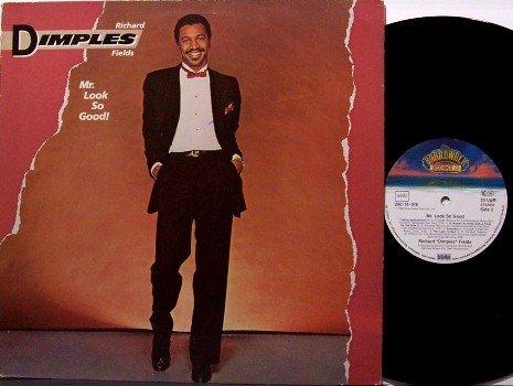 Fields, Richard Dimples - Mr. Look So Good - Vinyl LP Record - German Pressing - Mr - R&B Soul