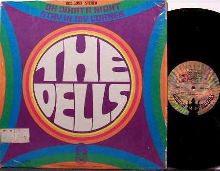 Dells, The - Oh What A Night Stay In The Corner - Vinyl LP Record - R&B Soul