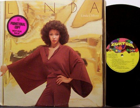 Clifford, Linda - Linda - Vinyl LP Record - Promo - Curtom Label - 1977 - R&B Soul