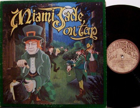 Miami Jade - On Tap - Vinyl LP Record - with Insert - 70s Irish Pub Folk