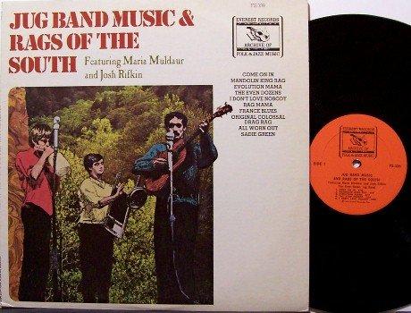 Jug Band Music & Rags Of The South - Even Dozen Jug Band - Vinyl LP Record - Folk
