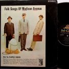 Flagpole Singers - Folk Songs Of Madison Avenue - Vinyl LP Record - Flag Pole - Comedy
