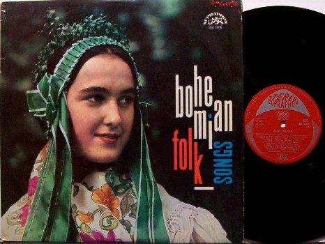 Bohemian Folk Songs - Vinyl LP Record - 1967