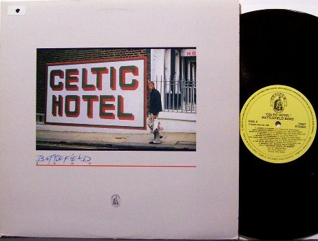 Battlefield Band - Celtic Hotel - Vinyl LP Record - Scotland - Folk