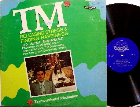 Transcendental Meditation - The TM Program - Vinyl LP Record - Inner Energy - Weird Unusual