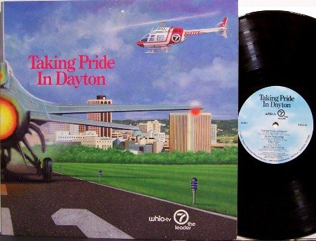 Taking Pride In Dayton - Vinyl LP Record - Ohio Chamber Of Commerce - Weird Unusual