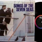 Songs Of The Seven Seas - Vinyl LP Record - German Nacy Ship - Cheesecake Germany World