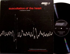 Auscultation Of The Heart - Vinyl LP Record - Recorded Medical Heart Sounds - Weird Unusual