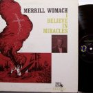 Womach, Merrill - I Believe In MIracles - Vinyl LP Record - Plane Crash Victim - Christian