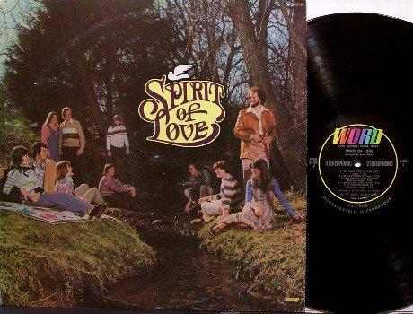 Spirit Of Love - Self Titled - Vinyl LP Record - 70's Contemporary Christian