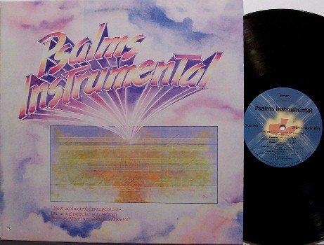 Psalms Instrumental - Vinyl LP Record - Maranatha Music - Christian