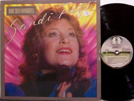 Patti, Sandi - More Than Wonderful - Vinyl LP Record - Sandy Patty - Contemporary Christian