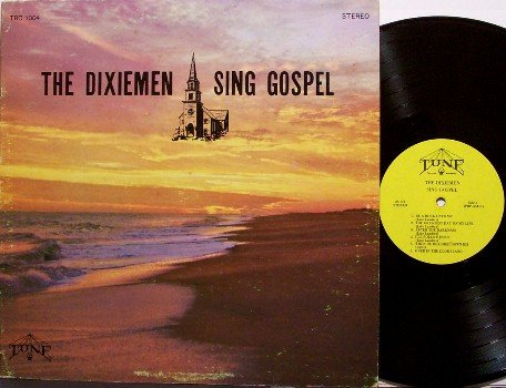 Dixiemen, The - Sing Gospel - Vinyl LP Record - 1972 Nashville Bluegrass Gospel