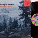 Brockington Ensemble, The - Up Above My Head - Vinyl LP Record - 70's Spiritual Gospel