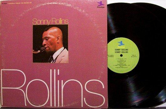 Rollins, Sonny - Rollins - Vinyl 2 LP Record Set - Prestige Jazz