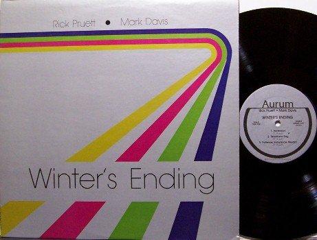 Pruett, Rick & Mark Davis - Winter's Ending - Vinyl LP Record - Winters - Jazz