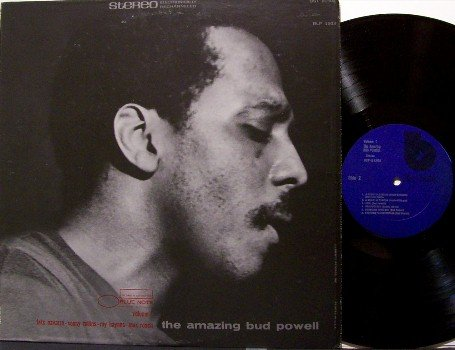 Powell, Bud - The Amazing Bud Powell Volume 1 - Vinyl LP Record - Blue Note Jazz