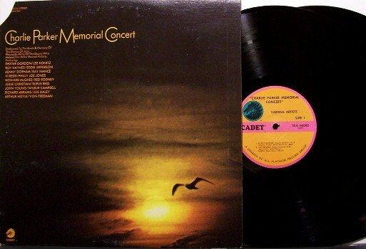 Parker, Charlie - Memorial Concert - Vinyl 2 LP Record Set - Konitz / Dorham, etc - Jazz