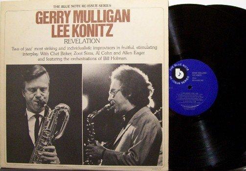 Mulligan, Gerry & Lee Konitz - Revelation - Vinyl 2 LP Record Set - Blue Note Jazz