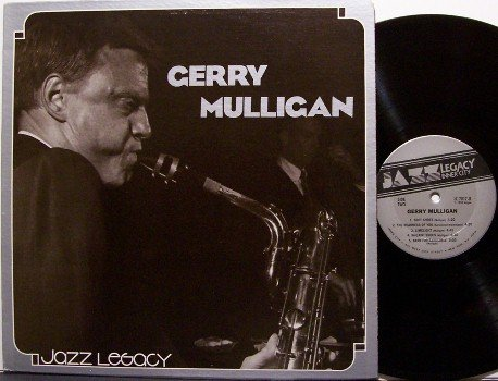 Mulligan, Gerry - Jazz Legacy - Vinyl LP Record - Inner City Label
