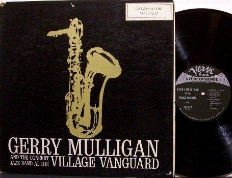 Mulligan, Gerry - At The Village Vanguard - Vinyl LP Record - Verve Jazz