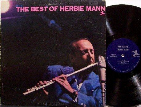 Mann, Herbie - The Best Of Herbie Mann - Vinyl LP Record - Mono - Prestige Jazz