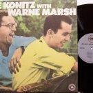 Konitz, Lee With Wayne Marsh - Vinyl LP Record - Jazz