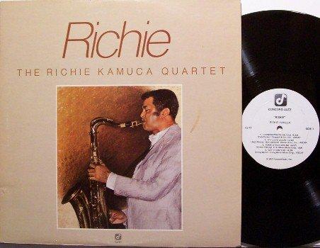 Kamuca, Richie Quartet - Richie - Vinyl LP Record - Concord Jazz