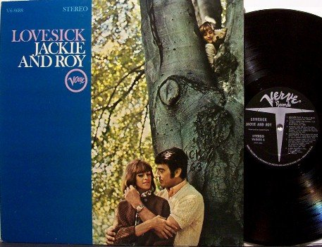 Jackie And Roy - Lovesick - Vinyl LP Record - Verve Jazz